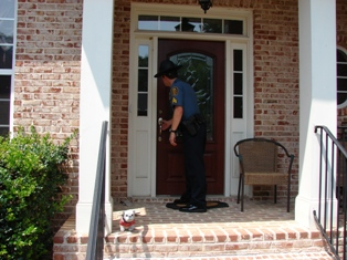 Loganville Police Vacation House Check